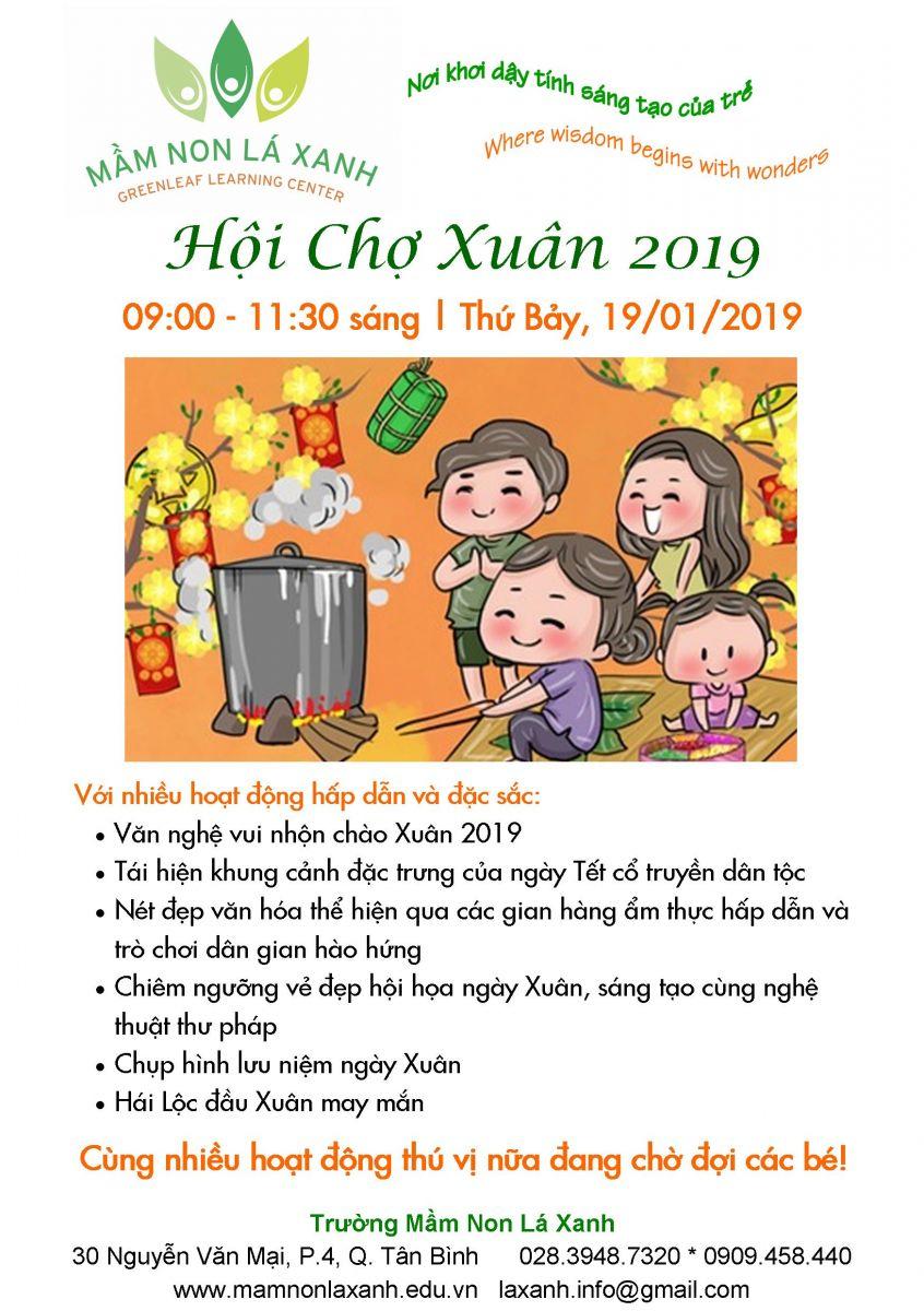 Event - Hội chợ Xuân Kỷ Hợi 2019 - 19/1/2019